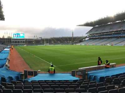 Croke Park, section: 322, row: O, seat: 22