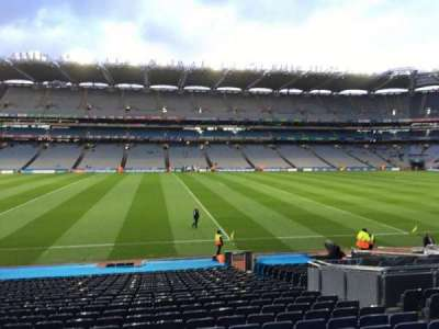 Croke Park, section: 332, row: Aa, seat: 7