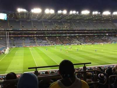 Croke Park, section: 310, row: Pp, seat: 16