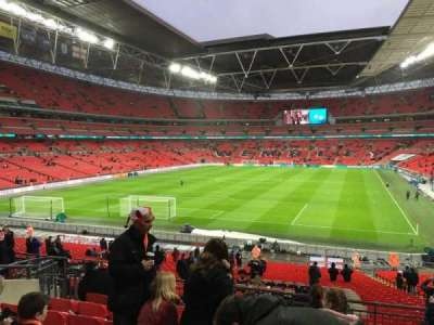 Wembley Stadium, section: 110, row: 38, seat: 213