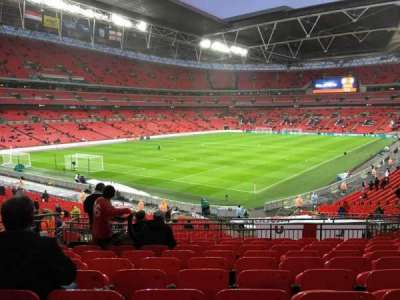 Wembley Stadium, section: 108, row: 40, seat: 157