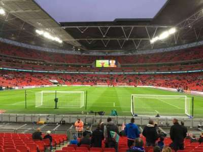 Wembley Stadium, section: 132, row: 17, seat: 300