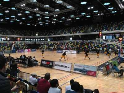 Copper Box Arena, section: 110, row: 6, seat: 40