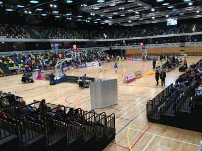 Copper Box Arena, section: 113, row: 9, seat: 18