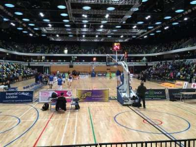 Copper Box Arena, section: 101, row: 5, seat: 62