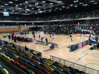 Copper Box Arena, section: 102, row: 9, seat: 32