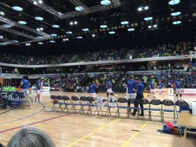 Copper Box Arena, section: 103, row: 1, seat: 55