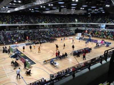 Copper Box Arena, section: 205, row: 13, seat: 125