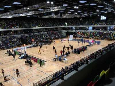 Copper Box Arena, section: 206, row: 13, seat: 138