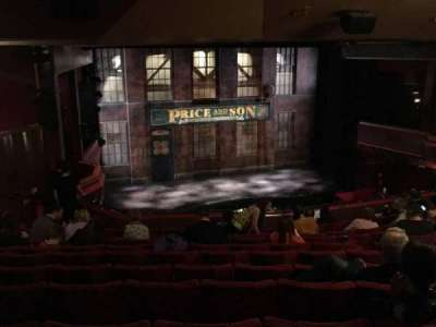 Adelphi Theatre, section: Dress Circle, row: L, seat:  31