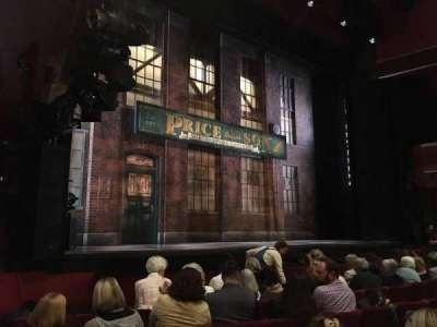 Adelphi Theatre, section: Stalls, row: G, seat: 34