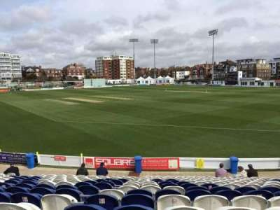County Cricket Ground (Hove), section: C, row: Q, seat: 50