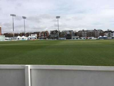 County Cricket Ground (Hove), section: Grand Stand C, row: A, seat: 43