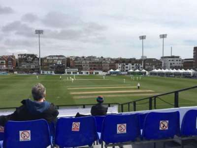 County Cricket Ground (Hove) section Upper Grandstand J