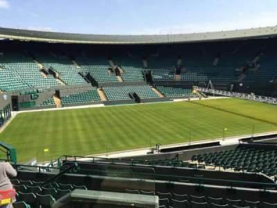 Wimbledon, Court No. 1, section: 32, row: J, seat: 280