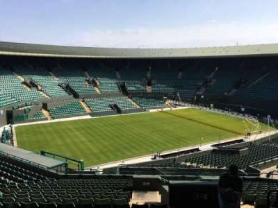 Wimbledon, Court No. 1, section: 37, row: R, seat: 245