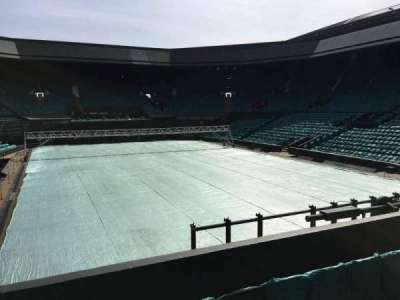 Wimbledon, Centre Court, section: 207, row: A, seat: Aisle Seat