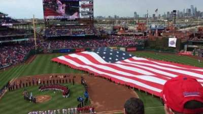 Citizens Bank Park, section: 315, row: 4, seat: 20