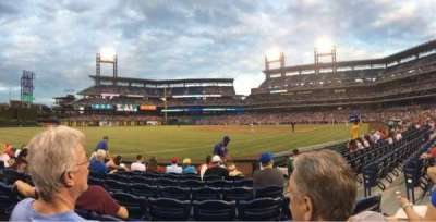 Citizens Bank Park, section: 137, row: 8, seat: 4