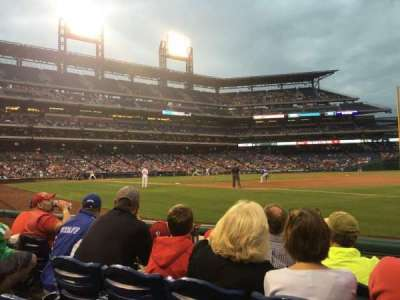 Citizens Bank Park, section: 112, row: 4, seat: 14