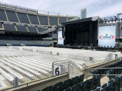 Soldier Field, section: 108, row: 6, seat: 11