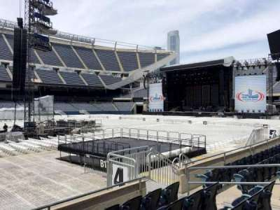 Soldier Field, section: 111, row: 5, seat: 10