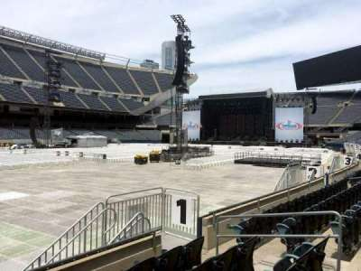 Soldier Field, section: 114, row: 5, seat: 10