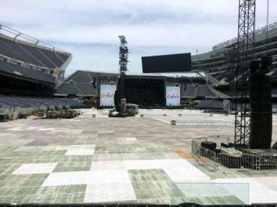 Soldier Field, section: 125, row: 5, seat: 5