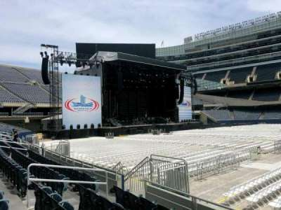 Soldier Field, section: 138, row: 5, seat: 10