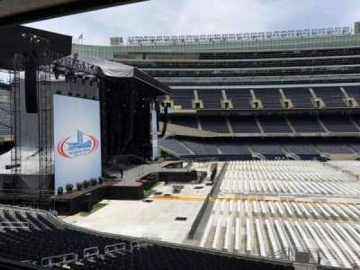 Soldier Field, section: 242, row: 3, seat: 10