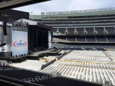 Soldier Field, section: 241, row: 3, seat: 10