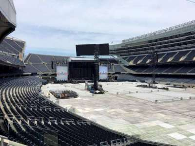 Soldier Field, section: 228, row: 3, seat: 4