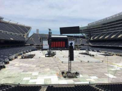 Soldier Field, section: 224, row: 5, seat: 10
