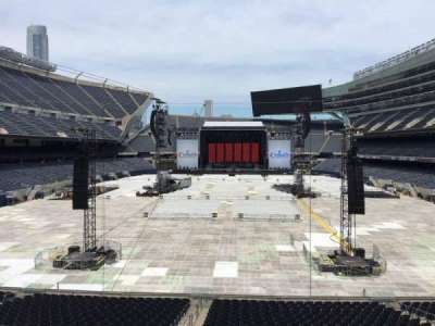 Soldier Field, section: 222, row: 5, seat: 9