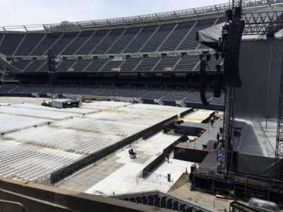 Soldier Field, section: 202, row: 12, seat: 1