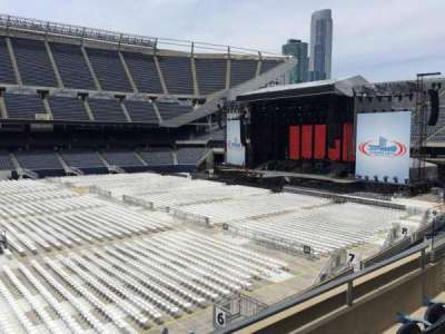 Soldier Field, section: 209, row: 3, seat: 11