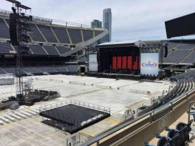 Soldier Field, section: 211, row: 3, seat: 9