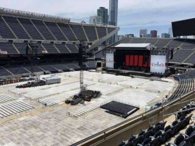 Soldier Field, section: 313, row: 5, seat: 6