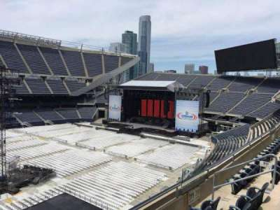 Soldier Field, section: 311, row: 4, seat: 8