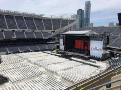 Soldier Field, section: 309, row: 4, seat: 5