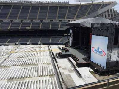 Soldier Field, section: 305, row: 4, seat: 7