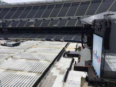 Soldier Field, section: 303, row: 4, seat: 4