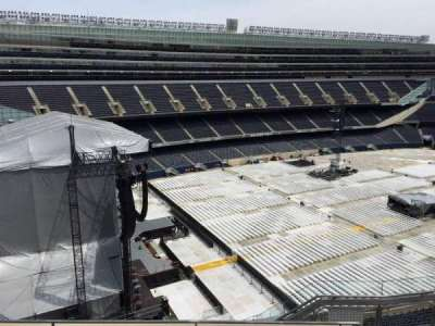 Soldier Field, section: 444, row: 6, seat: 15