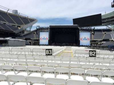 Soldier Field, section: C3, row: 8, seat: 11