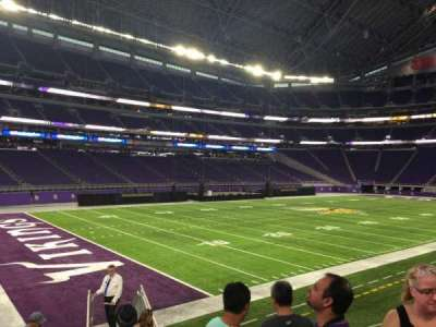 us bank stadium section 136 row 12 seat 5