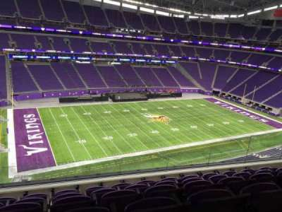 U.S. Bank Stadium, section: 345, row: E, seat: 11