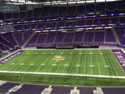 U.S. Bank Stadium, section: 339, row: B, seat: 20