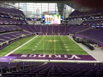 U.S. Bank Stadium section 119