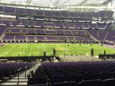 U.S. Bank Stadium section V4