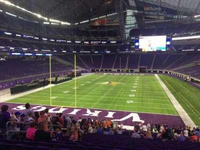 U.S. Bank Stadium section 140